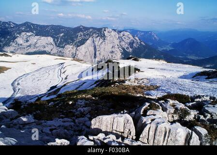 Loser Mountain, Styria, Austria. - Stock Photo