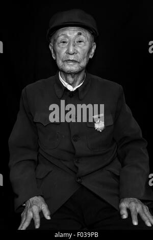 Chn. 25th Apr, 2015. CHINA - April 25 2015: (EDITORIAL USE ONLY. CHINA OUT)(MINIMUM PRICE: 100 USD) Yan Conghou: - Stock Photo