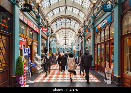 Great Western Arcade, Colmore Row, Birmingham West Midlands, England - Stock Photo