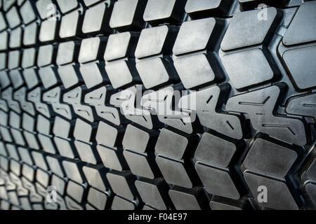 Textured tire tread - Stock Photo