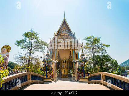 Wat Plai Laem Temple in Ban Bo Phut, Ko Samui, Thailand - Stock Photo
