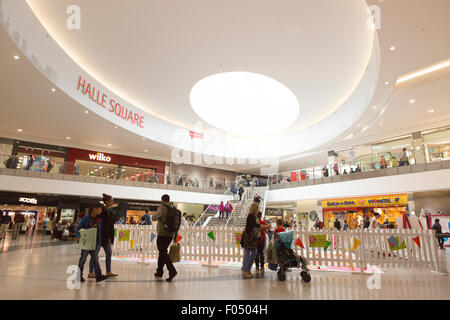 Interior picture of the Arndale Centre , Manchester - Stock Photo