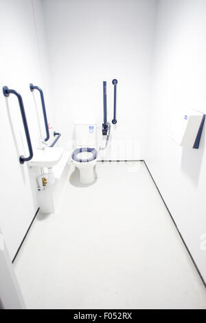 A disabled toilet - Stock Photo