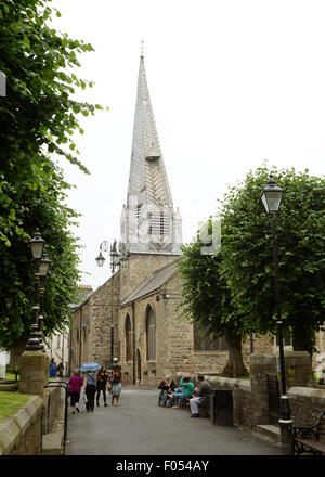 St Peters Church Barnstaple North Devon Parish Church St Peter and St Mary Magdelene - Stock Photo