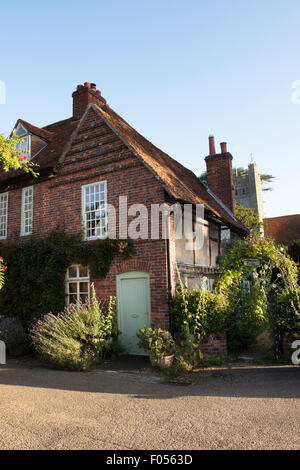 Lychgate cottage Hambleden, Buckinghamshire, England - Stock Photo