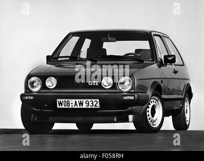 transport / transportation, car, vehicle variants, Volkswagen, VW Golf Mk2 GTI, 1980s, Additional-Rights-Clearences - Stock Photo