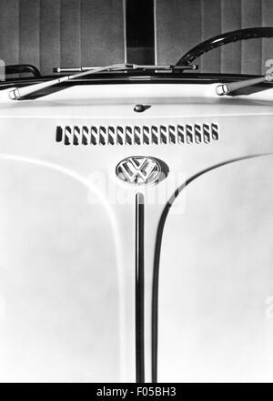 transport / transportation, car, vehicle variants, Volkswagen, VW Beetle 1300 and 1500, details, ventilation slots - Stock Photo