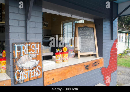 Fresh fish shop in new quay stock photo royalty free for Fresh fish shop near me