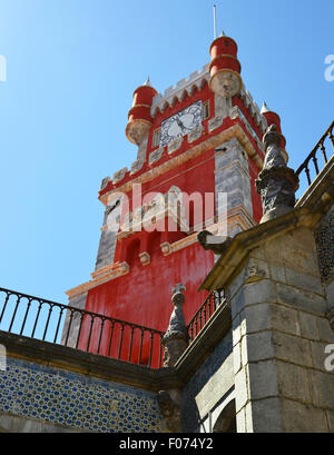 The Pena National Palace in Sintra - Stock Photo