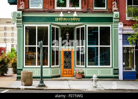Burford Advertising Inc. offices, 125 East Main Street, Richmond, Virginia - Stock Photo