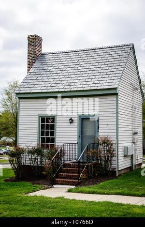 Smoke Chamber Cabins, Crump House, Courthouse Circle, New Kent, Virginia - Stock Photo