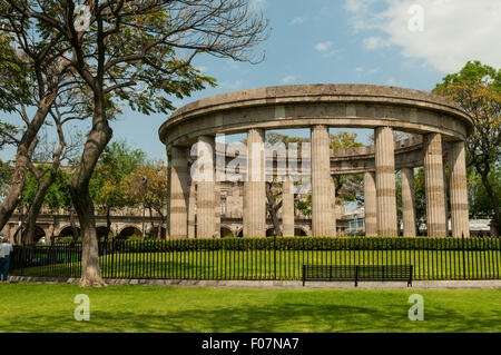 Rotonda de los Hombres Illustres, Guadalajara, Mexico - Stock Photo