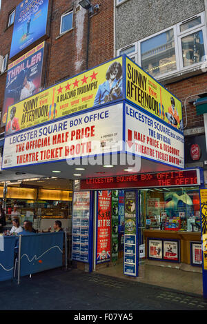 Leicester Square Ticket Booth, Leicester Square, West End, City of Westminster, London, England, United Kingdom - Stock Photo