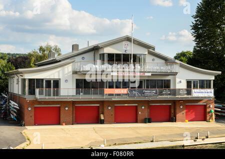 Marlow Rowing Club, Marlow, Buckinghamshire, England, UK. - Stock Photo