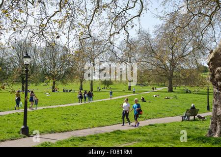 Primrose Hill, London Borough of Camden, London, England, United Kingdom - Stock Photo