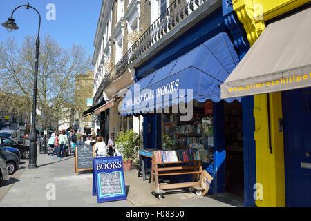 Regent's Park Road, Primrose Hill, London Borough of Camden, London, England, United Kingdom - Stock Photo