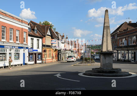 The High Street, Marlow, Buckinghamshire, England, UK. - Stock Photo