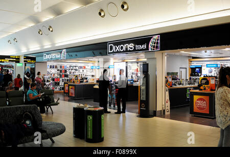 The Dixons Travel shop in Gatwick Airport South Terminal West Sussex UK - Stock Photo
