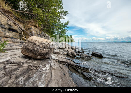 Point Au Roche State Park - Stock Photo