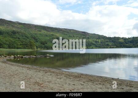 lake landscape - Stock Photo