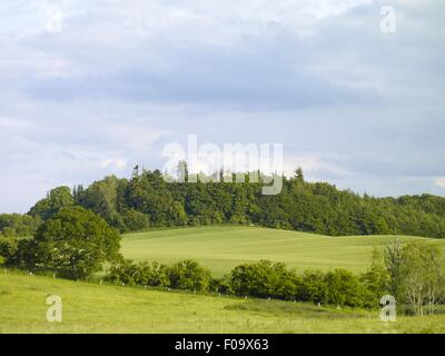 View of observation tower of Panker, Plon, Germany - Stock Photo