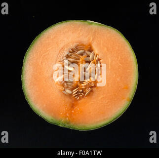 Cantaloupe-Melone, Cucumis melo var. cantalupensis,