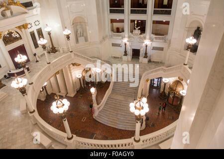 Us capitol dome rotunda paintings washington dc stock photo 48330955 alamy for Interior painting harrisburg pa