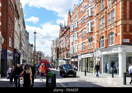 Long Acre, Covent Garden, City of Westminster, London, England, United Kingdom - Stock Photo