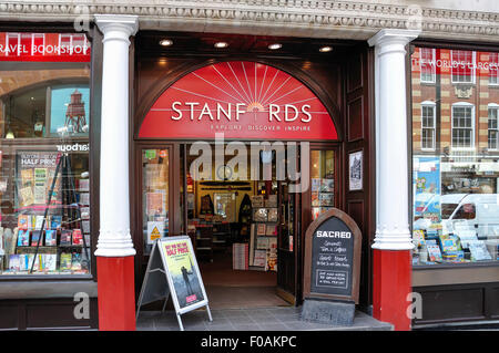 Stanfords Travel Bookshop Long Acre Covent Garden City Of Westminster London