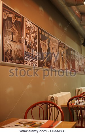Restaurant and event venue at The Arches in Glasgow, Scotland, UK - Stock Photo