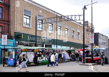 Chapel Market, Islington, London Borough of Islington, London, England, United Kingdom - Stock Photo