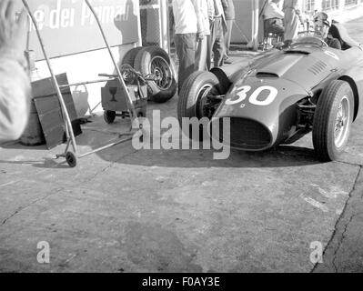 Italian GP in Monza 1956 - Stock Photo