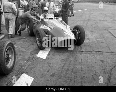 Italian GP in Monza 1956 - Stock Photo