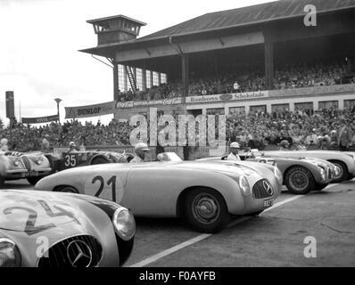 German GP in Berlin 1952 - Stock Photo