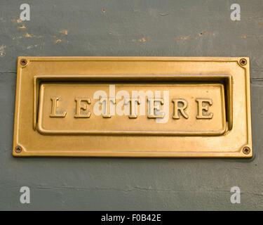 Italian Letter box - Stock Photo