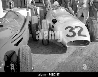Italian GP at Monza 1956 - Stock Photo