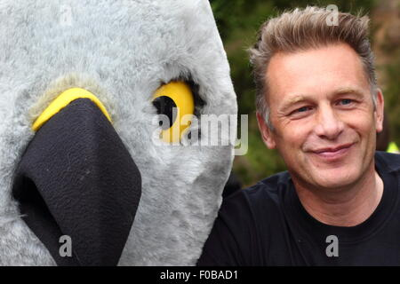 Broadcaster Chris Packham heads up the campaign against illegal persecution of hen harriers at Hen Harrier Day, - Stock Photo