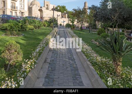 Old City Baku Azerbaijan - Stock Photo