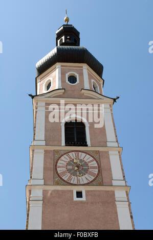Kirchturm, Kastelruth, - Stock Photo
