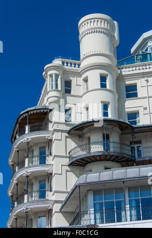 The Park Inn Hotel on the sea front Southend-on-Sea - Stock Photo