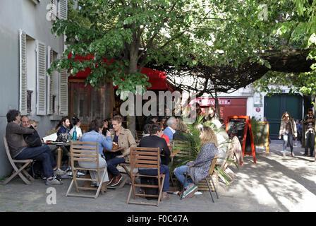 Restaurant Montmartre Chez Plumeau