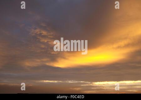 Morgenroete, Impression, Morgenstimmung, - Stock Photo