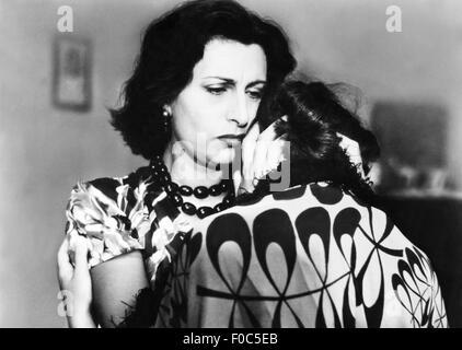 movie, 'Volcano' (Vulcano), ITA 1950, director: William Dieterle, scene with: Anna Magnani, Geraldine Brooks, Third - Stock Photo