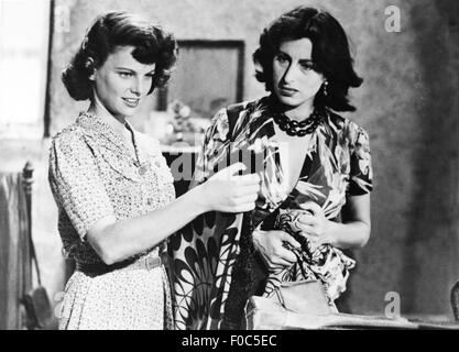 movie, 'Volcano' (Vulcano), ITA 1950, director: William Dieterle, scene with: Geraldine Brooks, Anna Magnani, , - Stock Photo