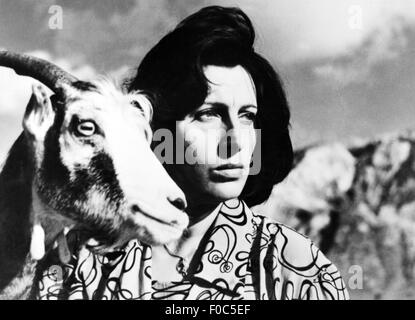 movie, 'Volcano' (Vulcano), ITA 1950, director: William Dieterle, scene with: Anna Magnani, , Third-Party-Permissions - Stock Photo