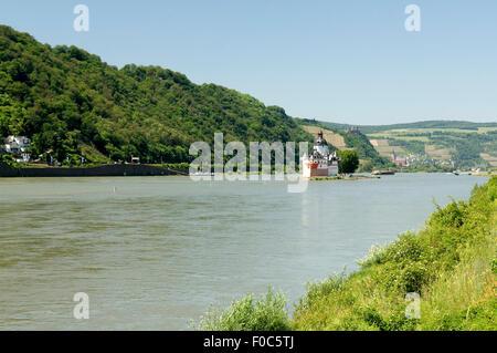 Pfalzgrafenstein, Burg, Pfalz, steinernes, Schiff - Stock Photo