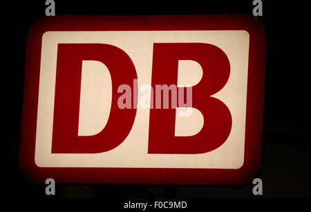 Markenname: 'DB - Deutsche Bahn AG', Dezember 2013, Berlin. - Stock Photo