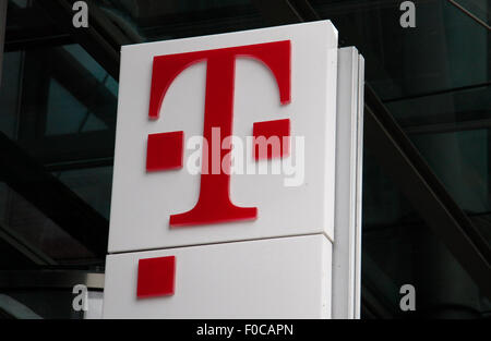 Logo der Deutsche Telekom. - Stock Photo