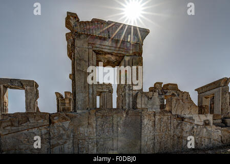 Ruins of Persepolis, Iran - Stock Photo