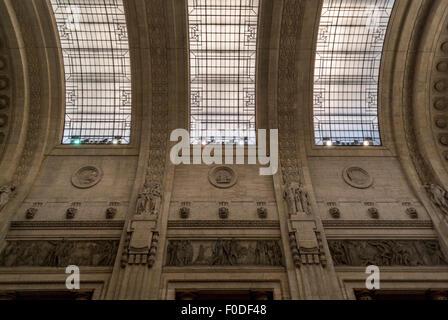 Milano Centrale. Milan Central Station, Italy. - Stock Photo